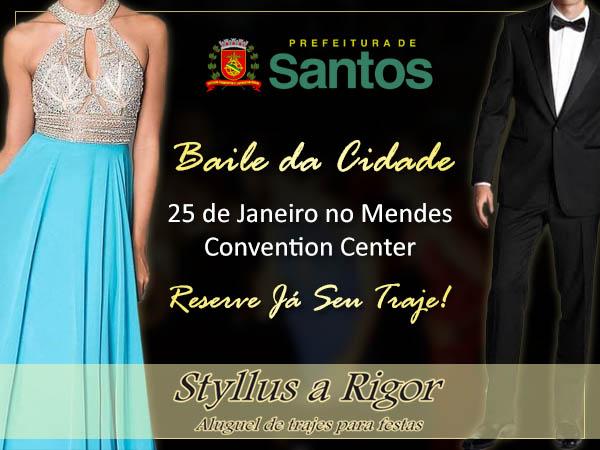 Baile da Cidade de Santos em Janeiro de 2019